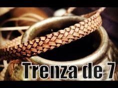 "Trenza de 7 - Trança de sete (Pluma) ""El Rincón del Soguero"" - YouTube"