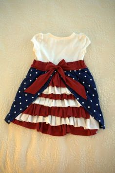 4th of July T-shirt or onesie dress