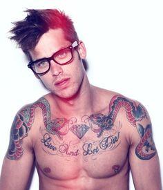 BERRY hot men: Tattoo hotties (29 photos)