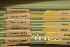 bill organization, the office, filing cabinets, cabinet organization, bowl full