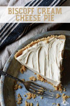 Biscoff Cream Cheese Pie | Southern Bite