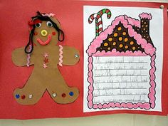 Gingerbread Unit Activities!