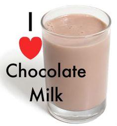 love chocolate milk!