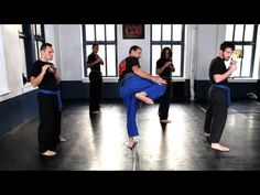 Krav Maga Combatives: Side Kick | Krav Maga Techniques - YouTube