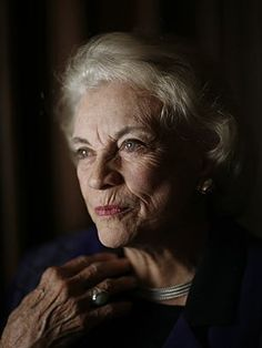 Sandra Day O'Connor....first woman Supreme Court Justice.