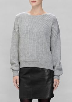 & Other Stories   Rib-Knit Sweater