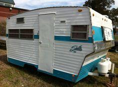 VINTAGE SHASTA CAMPERS | Outdoors / Campers / 1969 Shasta 1400 Vintage Travel Trailer Camper