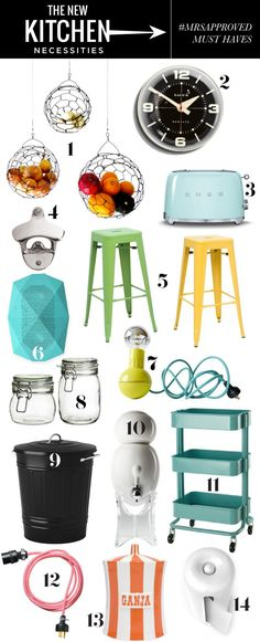 The NEW Kitchen Necessities / everything your kitchen needs