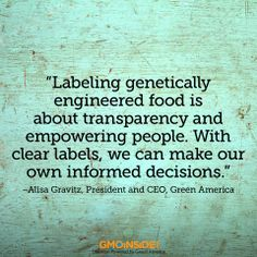 This week, Green America President Alisa Gravitz sent a letter to California State Senator Noreen Evans, thanking her for introducing SB 1381, a new bill that would require labeling of genetically engineered foods. Bill Update: SB 1381 passed out of the health committee 5-2 and moves forward to the agriculture committee. More here: http://gmoinside.org/green-america-supports-ca-bill-label-genetically-engineered-food
