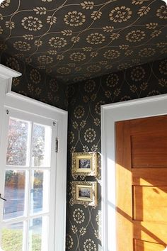 Ceiling painting is not crazy on pinterest painted Rules for painting ceilings