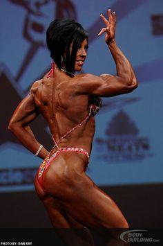 - Dana Linn Bailey (2012 IFBB Desert Muscle Classic)