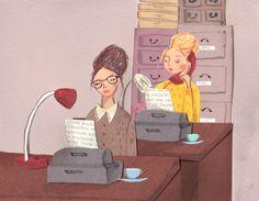 Ilustration orla kiely aw13 by Emma Block