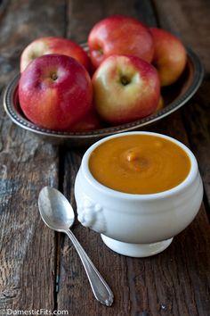 Sweet Potato And SweeTango Apple Soup