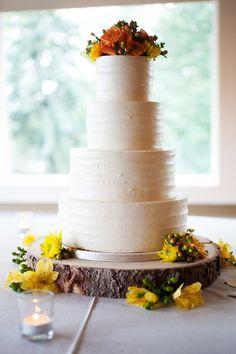 18 Rustic Wood Tree Slice Wedding Cake Base or by postscripts, $52.99