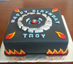 Beyblade Party Cake