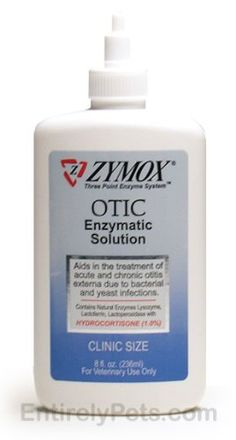 Before I found Zymox My dog had chronic ear infections that caused him horrible pain everyday. When used regularly my dogs ears stay clean and healthy. The stuff the vet kept giving me made his ears worse, I am so glad I found this product.