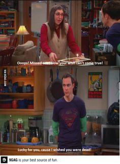 Wow Sheldon