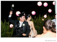 Everyone enjoyed the shoe game at Yuhan and Le's wedding. Photo by Kai Photography.   http://www.hawaiianweddings.net