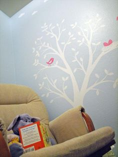 a nature-inspired nursery www.thebump.com