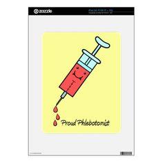 Proud Phlebotomist - Cute Phlebotomy syringe