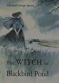 book turn, books, ponds, blackbird pond, book worth, witch, read, favorit book, childhood