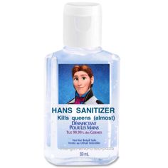 Hans Sanitizer. It should be at first it's soft then it becomes hard and frozen in the end.