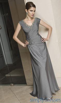 Figure Flattering Formal Gown ML-VM-70208