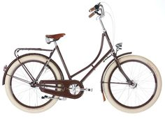 Choco Ladies Retro Bicycle | Velorbis Classic Bicycles choco ladi, bicycles, test ride, bike brand, velorbi bicycl, wwwluvhandlescouk, lh bike, retro bicycl, rooftops