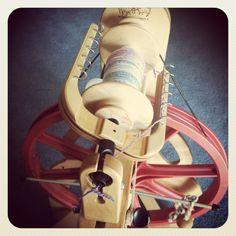 my spinning wheel:)
