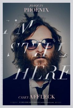 """I'm Still Here"" movie poster. A very design/fashion magazine cover-like movie poster."