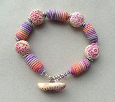 Life is sweet bracelet Silvana Bates by batessilvana, via Flickr