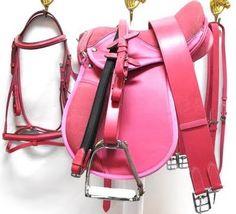 Riding pink!