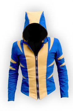 Snikt Hood - Volante Design. http://volantedesign.tumblr.com    I will be getting a volante designed superhero jacket one day!!!