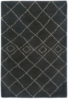 The Tangier rug in brown is a casual rug with a unique look. #Capel_Rugs