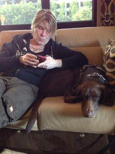 John Rzeznik & his pup <3 <3