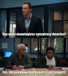One of my favorite lines from Community