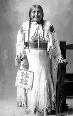 Nez Perce elder - no date or name or location