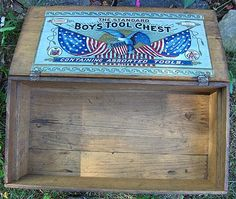 The Standard Boys Tool Chest Number 470 Price Brothers & Co. - 1940