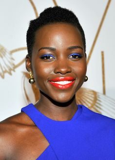 """Lupita Nyong'o's  makeup artist Nick Barose tells Beauty High how to wear Votre Vu's Palette Play Eye Shadow in Nude: Beauty High: """"You can do a more natural day time look with it or you can do a smokier, more dramatic look with it for all the skin tones. The lighter color would only work for fair to medium because for medium skin, it actually goes lighter.""""  http://beautyhigh.com/lupita-nyongo-makeup-artist/"""