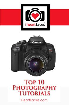 Top 10 Photography Tutorials from @I Heart Faces | Photography #photography