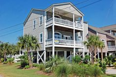 Island Time is a fabulous five-bedroom, three-bath home that is just a short walk to the beach, restaurants and entertainment. There is plenty of room at the Island Time beach house where your family can have an amazing North Myrtle Beach vacation. Bring your kids to this North Myrtle Beach rental in the Cherry Grove section of North Myrtle Beach, SC and enjoy spacious accommodations in a fabulous beach setting. Relax in the comfortable living room of this North Myrtle Beach vacation rental.