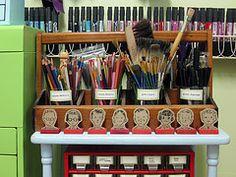 craft space, studios, cath holden, brushes, holden studio