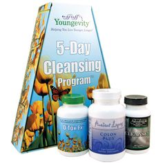 YOUNGEVITY - 5-DAY CLEANSING PROGRAM ~ I've done a cleanse before, your body loves you for it :)
