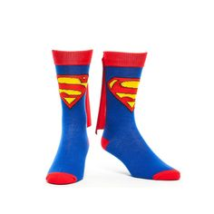 Superman Caped Crew Socks - funny!!