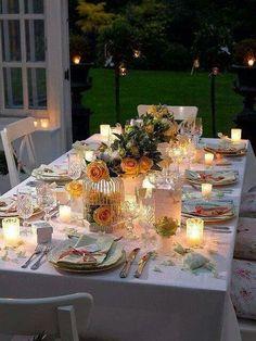 Evening Garden Parties on Pinterest