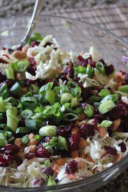 Deals to Meals: Poppyseed Coleslaw salad, meals, appl coleslaw, food, yum, gluten free, apple coleslaw recipe, green onions, poppyse coleslaw