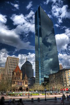 John Hancock Tower in Boston, MA