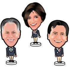 PCH Prize Patrol bobble head cartoon!!!
