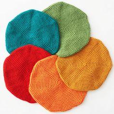 Bernat: Pattern Detail - Satin - Classic Crochet Beret