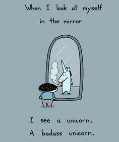 Stupid unicorn quotes crack me up!